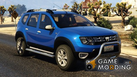 Dacia Duster 2014 for GTA 5