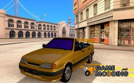 Ваз 2115-кабриолет v.3.0 для GTA San Andreas