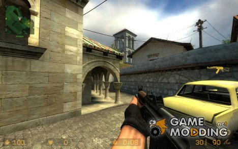 aks74u anims for Counter-Strike Source