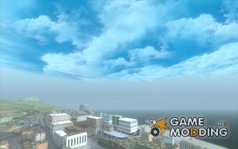 Красивые облака и многое другое for GTA San Andreas