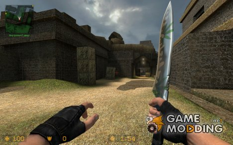 Hanf Knife для Counter-Strike Source