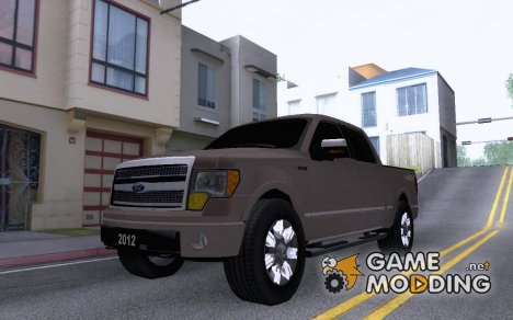2012 Ford Lobo Platinum для GTA San Andreas