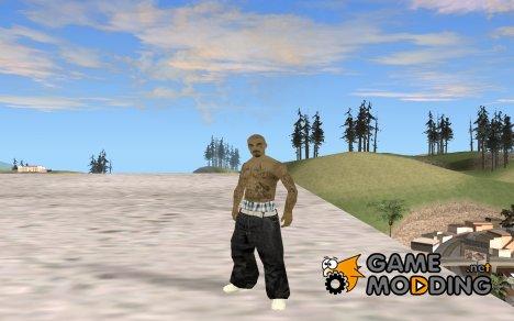 Новый скин lsv2 для GTA San Andreas