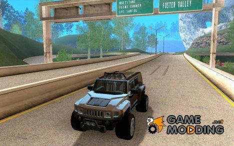 Hummer H3R для GTA San Andreas