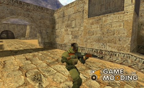 Brutal mercenary + additional model (nexomul) for Counter-Strike 1.6