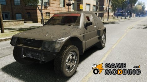 Mitsubishi Pajero Proto Dakar EK86 for GTA 4