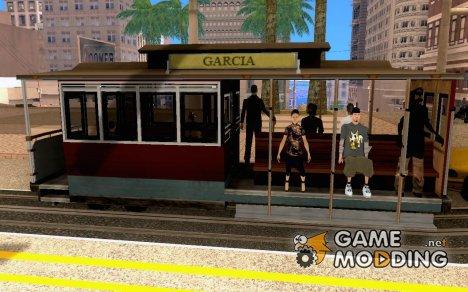 Enterable Tram v1.2 для GTA San Andreas