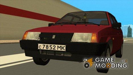 ВАЗ 2109 Низкая панель для GTA San Andreas