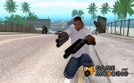 ManHunt Sawnoff shotgun for GTA San Andreas