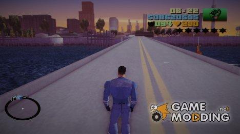 Клод не падает (Анимация) для GTA 3