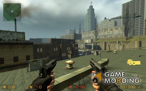 W model for next Gen p90!! now fixed!! для Counter-Strike Source