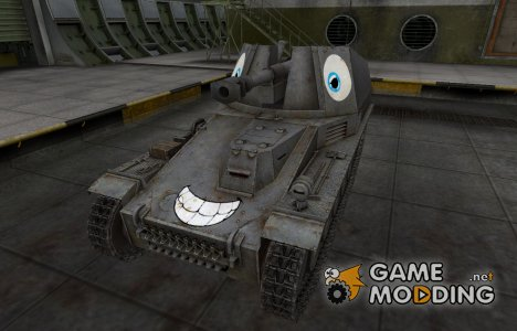 Забавный скин Wespe for World of Tanks
