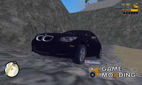 "BMW M5 E60 ""TT Black Revel"" for GTA 3"