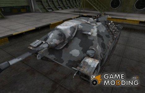 Камуфлированный скин для Hetzer для World of Tanks