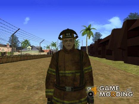 New lvfd1 (Пожарник) для GTA San Andreas