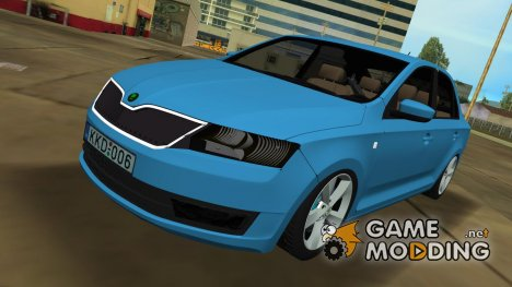 2013 Skoda Rapid Sedan BETA for GTA Vice City