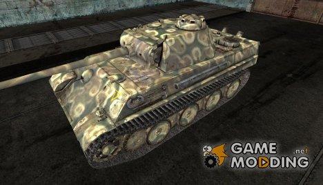 Шкурка для PzKpfw V Panther для World of Tanks