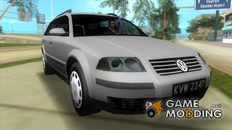Volkswagen Passat B5 Variant 1.9 TDi BETA for GTA Vice City