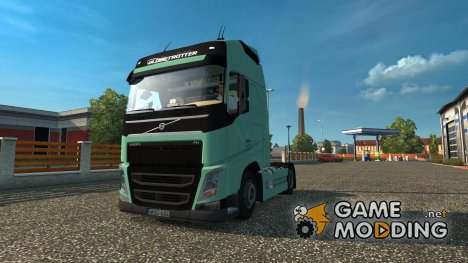 Volvo fh4 540eev v2 for Euro Truck Simulator 2