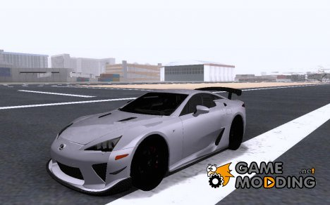 Lexus LFA Nürburgring Performance Package 2011 for GTA San Andreas