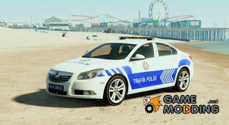 Opel Insignia 2016 Yeni Türk Trafik Polisi для GTA 5