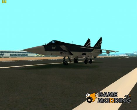 MIG-31 Pirat Squadron for GTA San Andreas