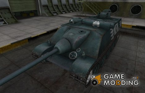 Зоны пробития контурные для AMX AC Mle. 1948 for World of Tanks