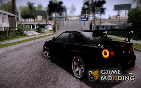 Grahics mod for medium PC v3 для GTA San Andreas