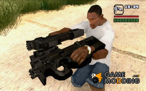 FN P90 MkII for GTA San Andreas
