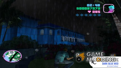 Dark Blue Vercetti Estate for GTA Vice City