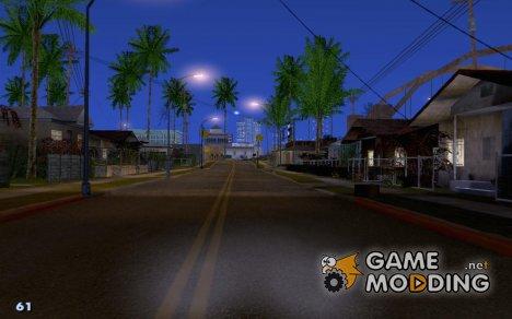 Простой маленький спидометр для GTA San Andreas