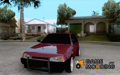 ВАЗ 2108 (версия с белыми дисками) for GTA San Andreas