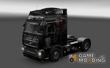 Скин Turian для Volvo FH16 Classic для Euro Truck Simulator 2