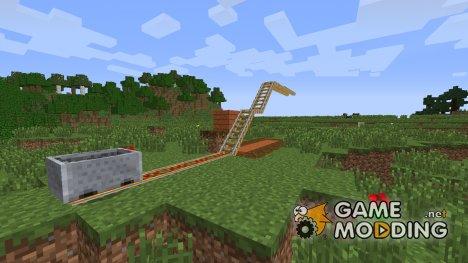 Железнодорожный мост для Minecraft