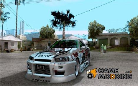 Nissan Skyline ER34 D1GP Blitz for GTA San Andreas