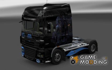 Скин Husk для DAF XF for Euro Truck Simulator 2