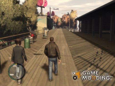 Оригинальные звуки шагов из GTA IV для GTA San Andreas