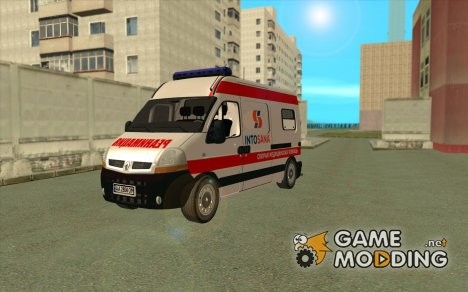 "Renault Master Скорая помощь ""Интосана"" (Into-Sana) для GTA San Andreas"