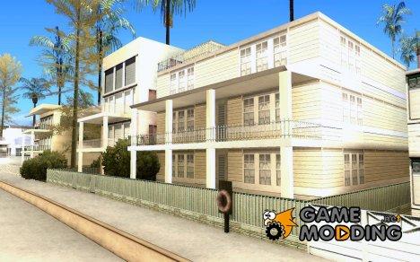 Измененный дом на пляже Санта-Мария 2.0 for GTA San Andreas