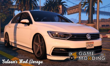 2016 Volkswagen Passat R Line Sedan B8 for GTA 5