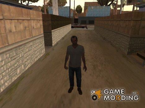 Paсk of characters from GTA 5 для GTA San Andreas