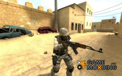Urban Camo Usmc (reskined) для Counter-Strike Source