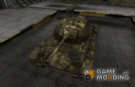 Простой скин M24 Chaffee for World of Tanks