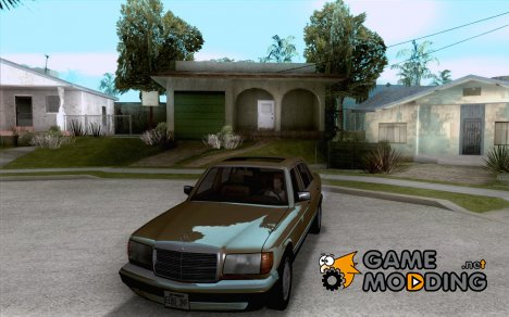 Mercedes Benz W126 560 1990 для GTA San Andreas