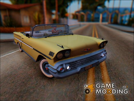 1958 Chevrolet Impala Sport Coupe V8 for GTA San Andreas