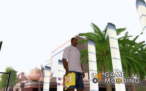 Sponge Bob (Grenade) for GTA San Andreas