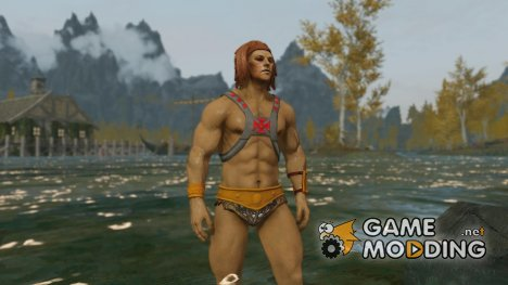 Exposed Armors - He-Man Outfit для TES V Skyrim