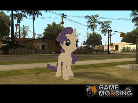 Rarity (My Little Pony) for GTA San Andreas