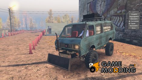РАФ-2203 «Леший» v 1.2 for Spintires 2014
