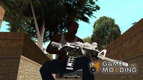 M4 Skeleton for GTA San Andreas